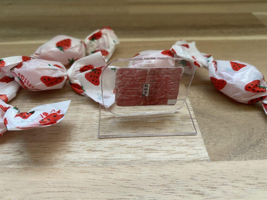 高級肉「松坂牛」の自作アクリルスタンド